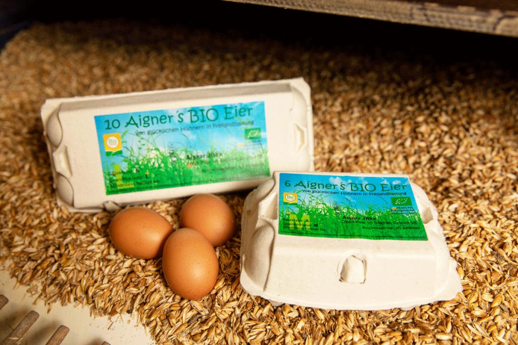 Bio-Eier vom Aigner
